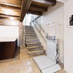 Ανελκυστήρας σκάλας Lg straight