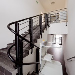 ανελκυστήρας σκάλας SL Curved